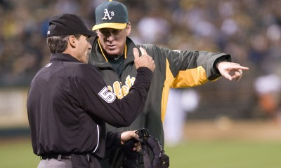 Angel Hernandez has had his fair share of controversial calls. (US Presswire)